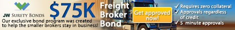 Freight Broker Bond